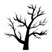 Tree without leaves — Stock Vector