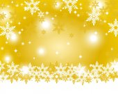Christmas gold background — Stock Vector