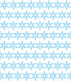 Seamless background of blue snowflakes — Stock Vector