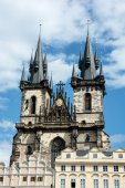 The Church of Mother of God in front of Tyn in Prague — Stock Photo