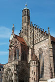 Church of Our Lady in Nuremberg, Germany — Stock Photo