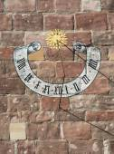 Beautiful historic sundial — Stock Photo
