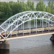 Bridge over Daugava river — Stock Photo #59208103