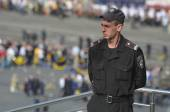 Police.Victory parade. Kiev.Ukraine — Stock Photo