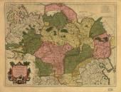 Vintage map — Stock Photo