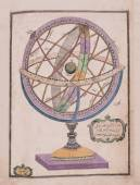 Arabic astronomical chart — Stock Photo