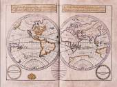 Arabic old map — Stock Photo