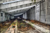 Abandoned military base — Stock Photo
