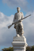 Monument of Crimean War — 图库照片