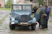 Reconstituição histórica da segunda guerra mundial — Fotografia Stock