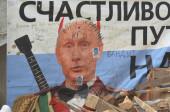 Kiev during Revolution of Dignity — Zdjęcie stockowe