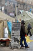 Kiev, au cours de la révolution de la dignité — Photo