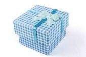 Blue Jewelry Box — Stock Photo