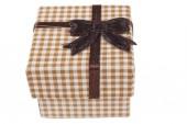 Brown Closed Box — Stock Photo