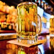 Pint of beer on a bar — Stock Photo #60208965