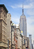 The iconic Empire State Building — Stock Photo