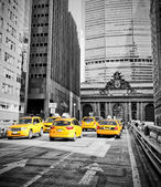 New York cabs — Stock Photo