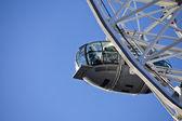 London Eye, Europes tallest ferris wheel — Stock Photo