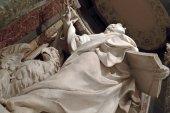 ジョン福音伝道者の像 — ストック写真