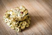 Chinese frog, symbol of riches — Stock Photo