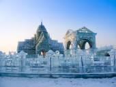 Ice sculptures — Stock Photo