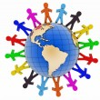 Global communication concept. World partnership. — Stock Photo #54827419