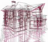 Абстрактная современная архитектура — Стоковое фото
