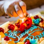 Birthday cake — Stock Photo #59070891
