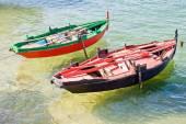 Boats in Rias Baixas, Galicia, Spain — Stock Photo