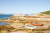 Boats in Rias Baixas, Galicia, Spain — Stok fotoğraf