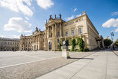 BERLIN, GERMANY - SEPTEMBER 17: Humboldt University of Berlin. Faculty of Law on September 17, 2013 in Berlin, Germany. It is one of Berlin's oldest universities, founded in 1810. — Stockfoto