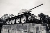 BERLIN, GERMANY - SEPTEMBER 20: Soviet War Memorial in Berlin Tiergarten on September 20, 2013 in Berlin, Germany. — Stock Photo