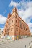 BERLIN, GERMANY - SEPTEMBER 21: Friedrichswerder Church, built in 1831 on September 21, 2013 in Berlin, Germany. — Stock Photo