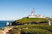 Cabo Da Roca, Sintra, Portugal. O ponto mais ocidental da Europa continental. — Fotografia Stock