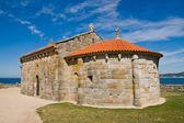 Ermita de Nosa Senora da Lanzada — Stock Photo