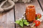 Fresh made Tomato Sauce — Stock Photo