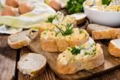 Homemade Eggs Salad — Stock Photo