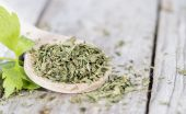 Heap of dried Lovage — Stock Photo