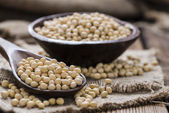 Portion of Soy Beans — Stock Photo