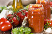Fresh Tomato Sauce — Stock Photo