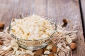 Heap of Almond Flakes — Stock Photo