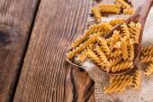 Portion of Fusilli Whole Grain — Foto de Stock