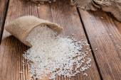 Portion of Uncooked Rice — Stock Photo
