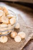 Roasted Macadamia nuts — Stock Photo