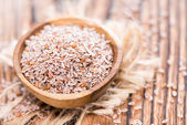 Heap of fresh Psyllium seeds — Stock Photo