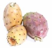 Prickly Pears on white — Stock Photo