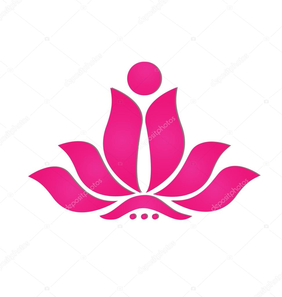 Stylized Lotus Flower Icon Equinox In Armonk Class Schedule