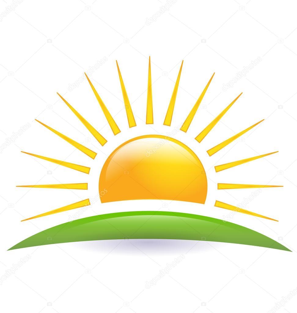 u00cdcone do horizonte sol logo vector vetores de stock sun weather icon vector sun weather icon vector