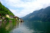 Hallstatt village — Stock Photo