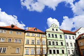 Old houses  in Prague — Stock Photo